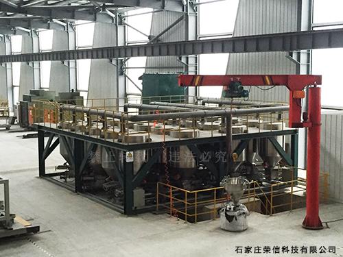 焊材自动配料系统